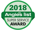 Angie's List Super Service Award 2018 - MEP Home Services