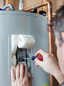 HVAC, Plumbing, and Electrical Services with MEP Home Services - MEP Home Services repairs and installs hot water heaters