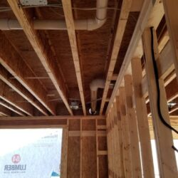 MEP Construction Project, New Construction HVAC System Instillation