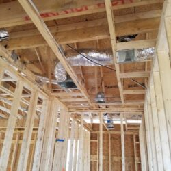 Ventilation MEP Construction Project, New Construction