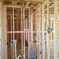 Electrical System MEP Construction Project, New Construction Electrical