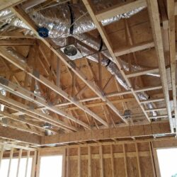 Whole Home HVAC System, MEP Construction Project, New Construction