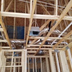 MEP New Construction Overhead HVAC System Whole Home
