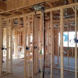 Electrical System Whole Home, MEP Construction Project, New Construction