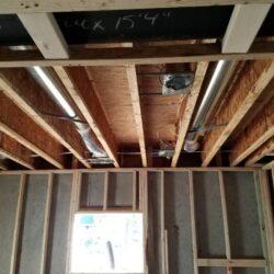 MEP HVAC New Construction Project Overhead Ventilation System