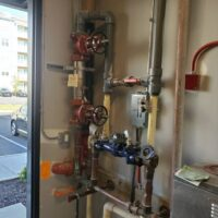 MEP Multi-Family Construction Locust Thicket, Plumbing pipes