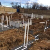 MEP Fairfax Gateway Multi-Family Construction Project, Plumbing and New Construction