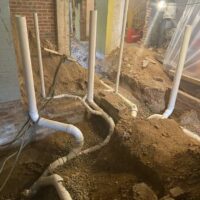 800 Constitution Ave, MEP Multi-Family Construction, Plumbing Pipes